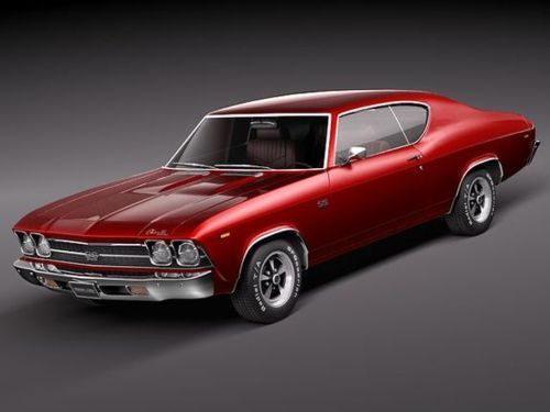 1969 Chevelle. My Favorite car in the world. exactly this color. one day i will get one.