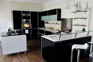 35 best images about cuisine salle de bain on pinterest for Modele de cuisine ouverte sur salle a manger