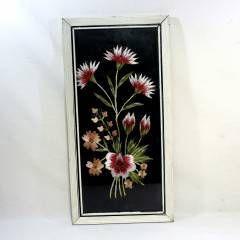 Antika Ahşap çerçeve Etamin çiçek Işleme Tablo GittiGidiyor'da 226238399
