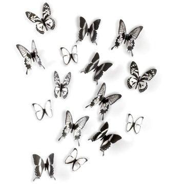 Väggdekor - Fjärilar