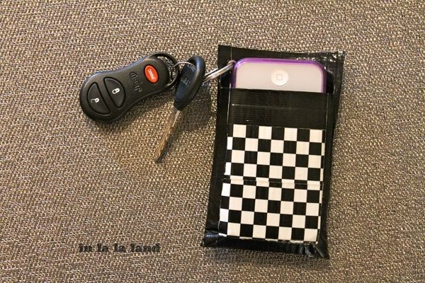 Duck Tape Wallet & Phone Holder