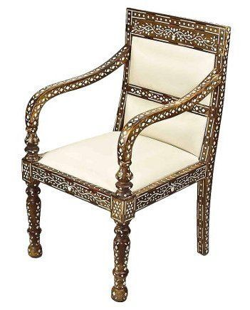 Anglo Indian Vintage Bone Inlay Chair Asian Art Exports Vintage U0026 Antique  Teak Wood Bone Inlay