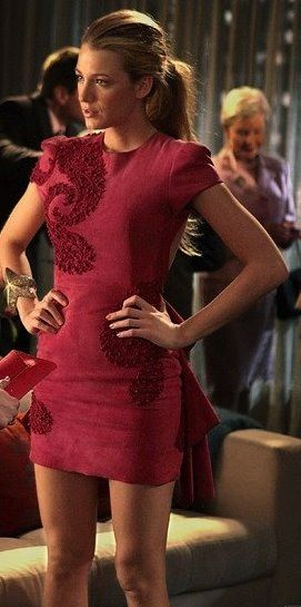 Pink Marchesa dress