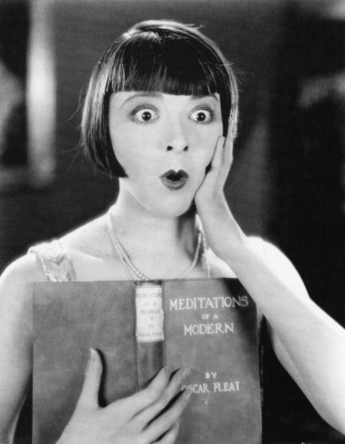 """Colleen Moore, from the movie """"We Moderns"""" (Dillon 1925)."""
