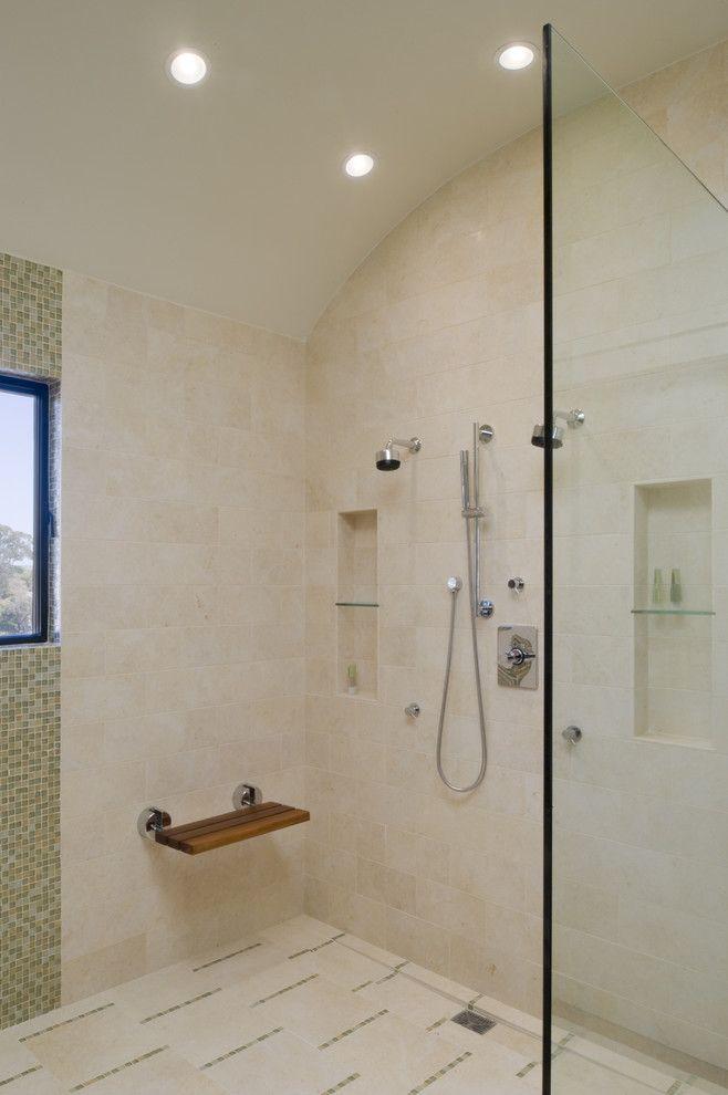 Fold Down Bench. Young   Modern   Bathroom   San Francisco   John Lum