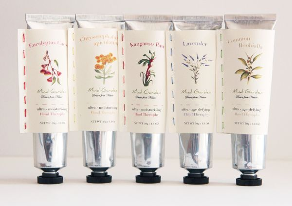 Mind Garden - Hand Cream | #packaging #handcream #cosmetics