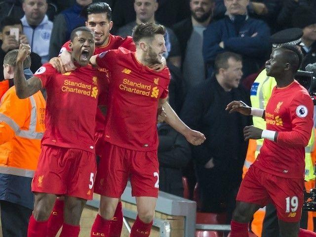 Result: Georginio Wijnaldum fires Liverpool past Manchester City #Liverpool #Manchester_City #Football