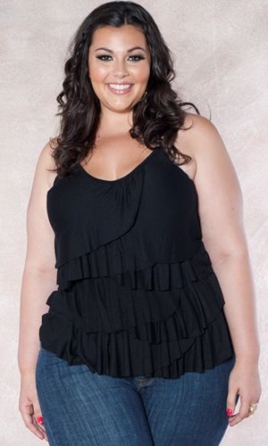 Curvalicious Clothes::Plus Size Tops  I love seeing plus size clothing on 'real women'