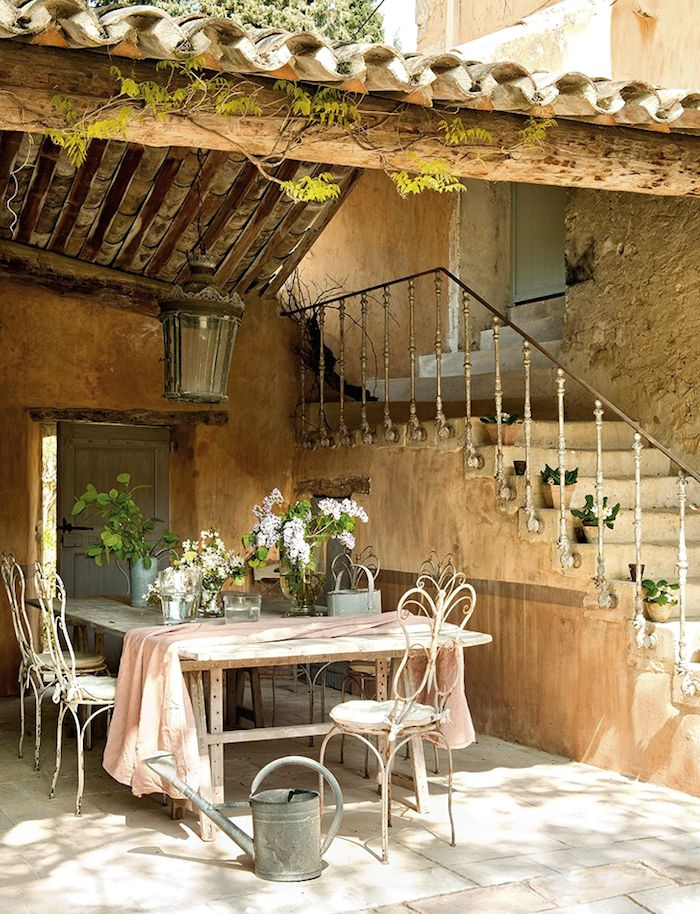 outdoor dining | provence