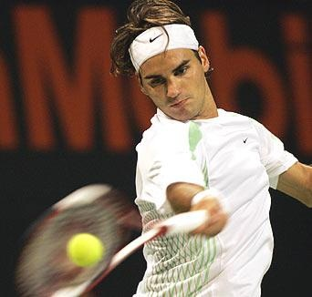 Tennis..and Fedex forehand :)