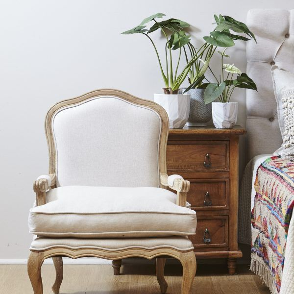 Delphine Linen Armchair available from our French Provincial Collection. Available to purchase online or in store. http://www.shack.com.au/contact-us