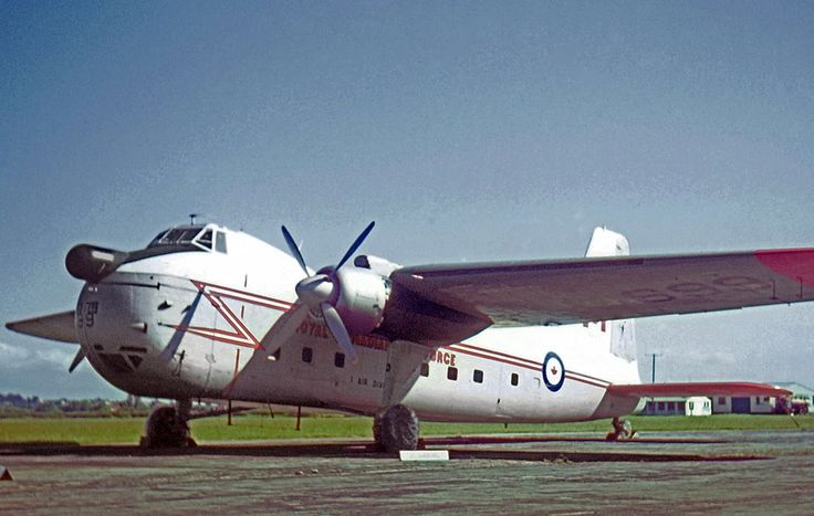 Royal Canadian Air Force Bristol 170 31M of the RCAFs European-based 1st Air Division in 1966