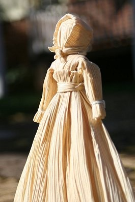 Hear the Raven's Call: Corn Husk Dolls - Craft of the Day