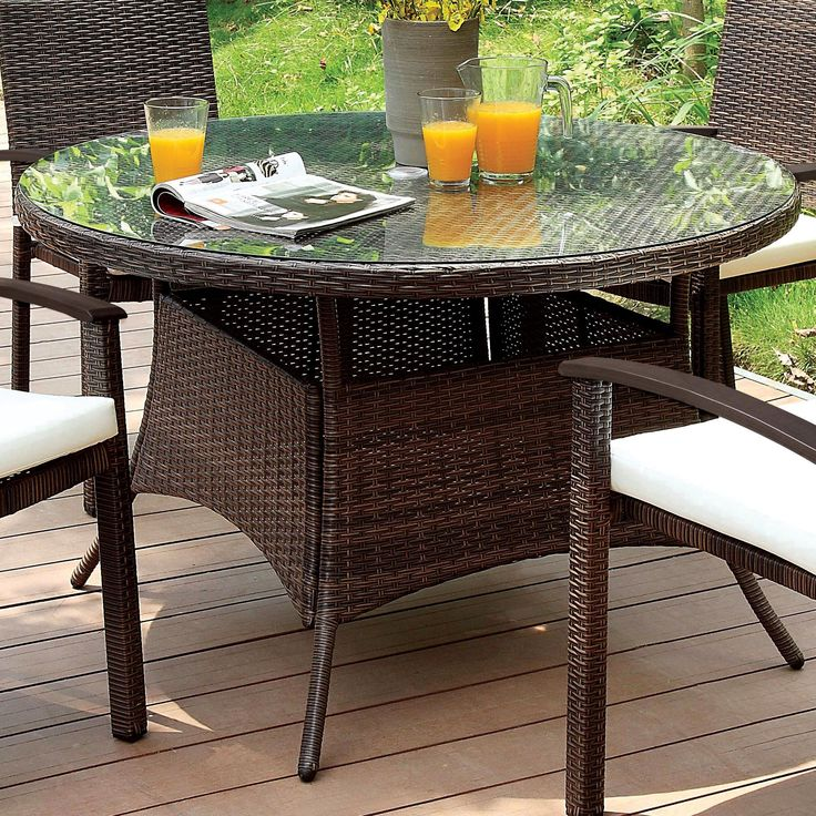 Contemporary Outdoor Dining Furniture