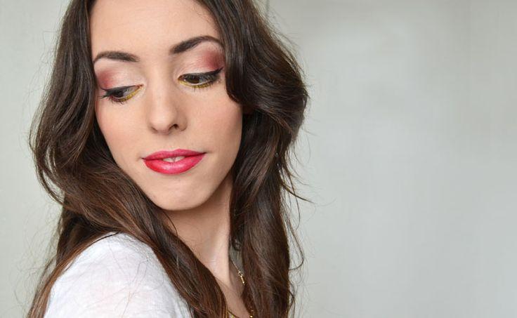 #makeup #red #orange #tutorial #tuto #beauty #lips #eyes #makeupgeek