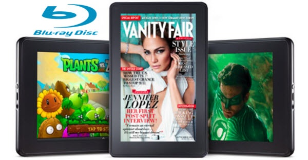 How to Rip Blu-ray Movies to Kindle Fire