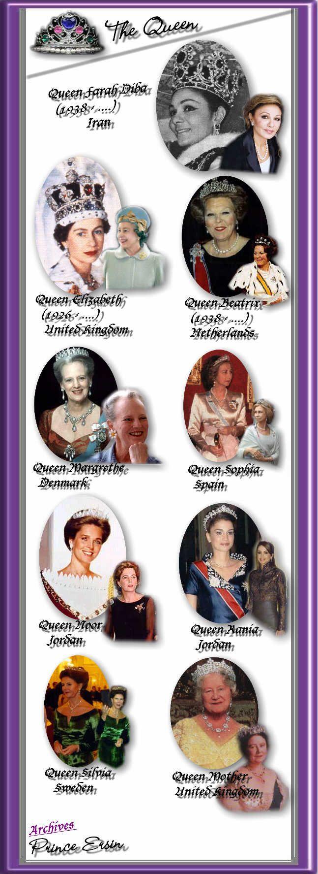Famous QUEENS