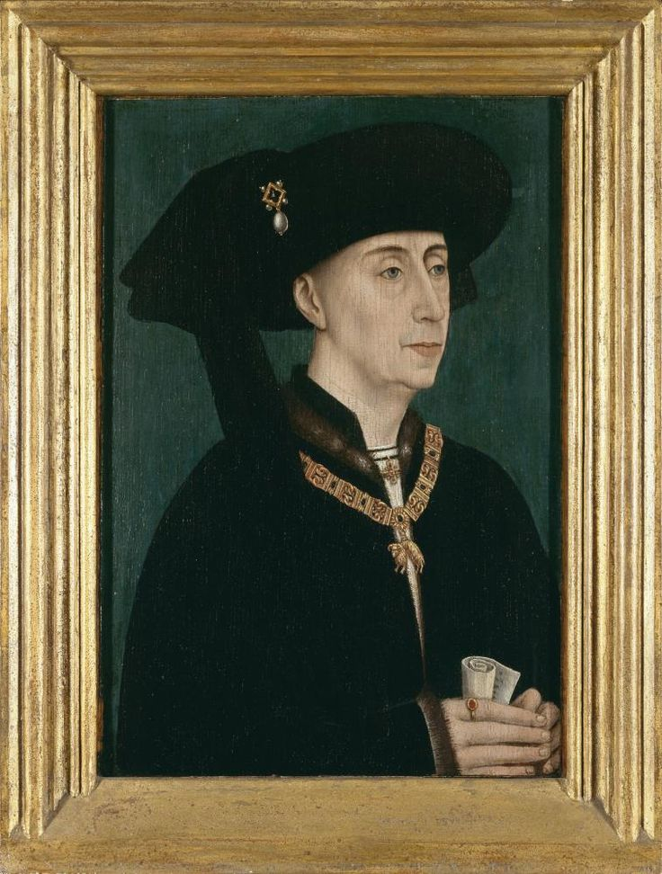Anonymous master: 'Portrait of Philip the Good', Groeninge Museum, Bruges