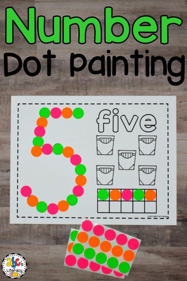 These Number Dot Painting Worksheets Are A Hands On Way For Children To Practice Identifying Numbers And Bingo Dauber Activities Dauber Activities Bingo Dauber [ 1104 x 736 Pixel ]