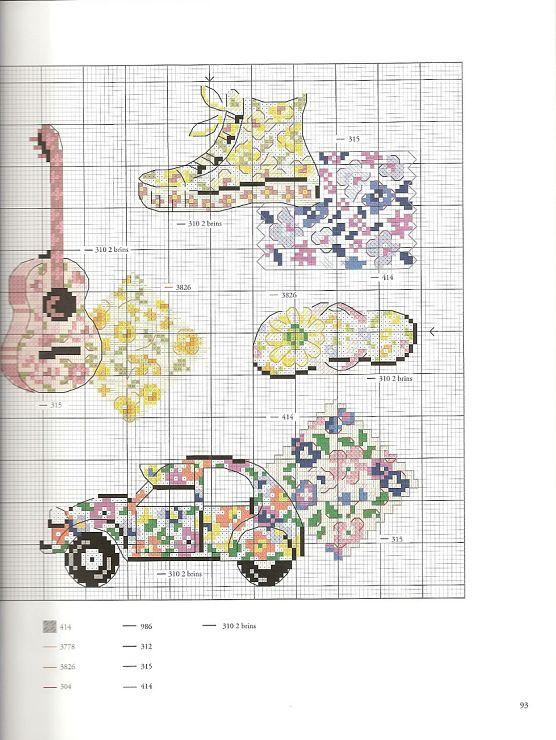 cross stitch pattern Hippie Gallery.ru / Фото #89 - MODA - KIM-3