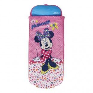 Matelas gonflable filles de 3 à 6 ans, 1 place - Readybed Minnie Mouse 150 x 62 x 20 cm