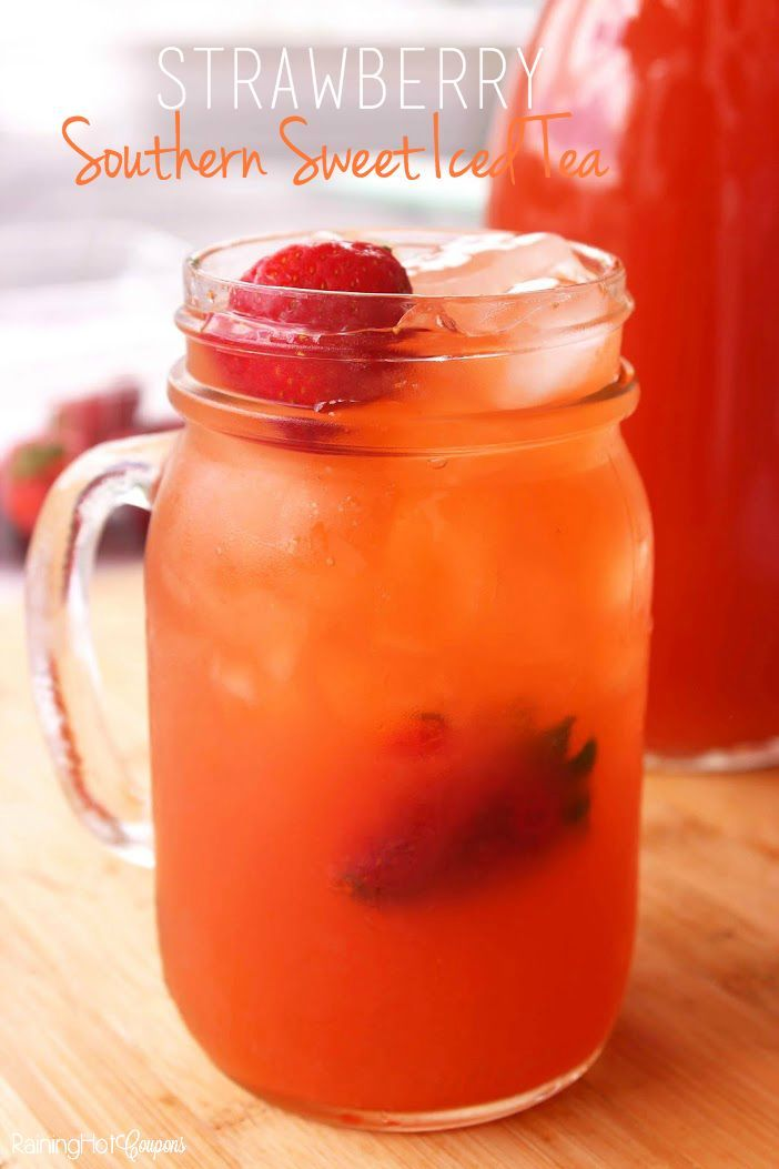 Strawberry Southern Sweet Iced Tea