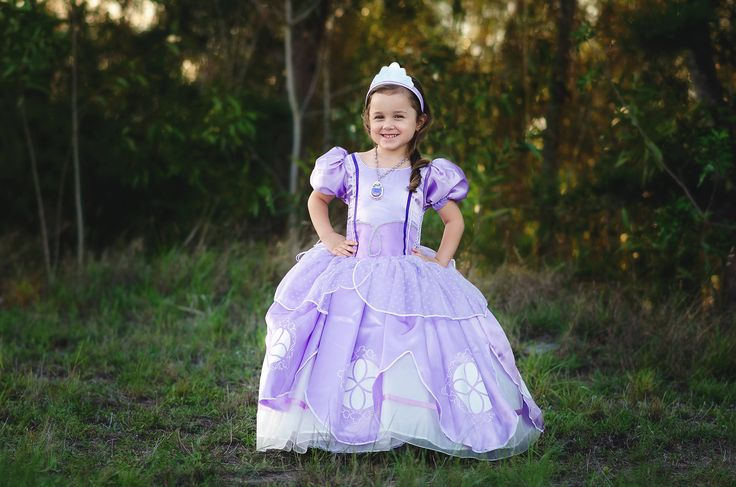 Princess Sofia Dress / Disney Inspired Sofia the First Costume - Kids, Girls, Toddler, Child by MagicalWishBoutique on Etsy https://www.etsy.com/listing/536077245/princess-sofia-dress-disney-inspired