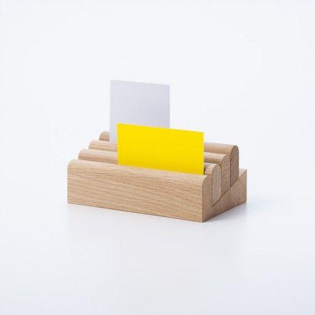 Berra is a paper holder from Karimoku New Standard, designed by Lucien Gumy #wood