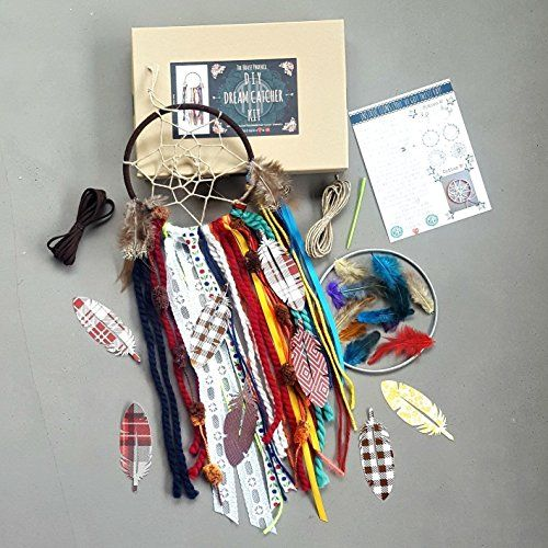 Amazon.com: Make Your Own Dream catcher Craft Kit. Makes the Perfect DIY Crafty Gift. Do It Yourself Project by The House Phoenix: Handmade