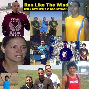 Honor the Lakota Marathon Runners and Help brighten the future of Lakota Youth
