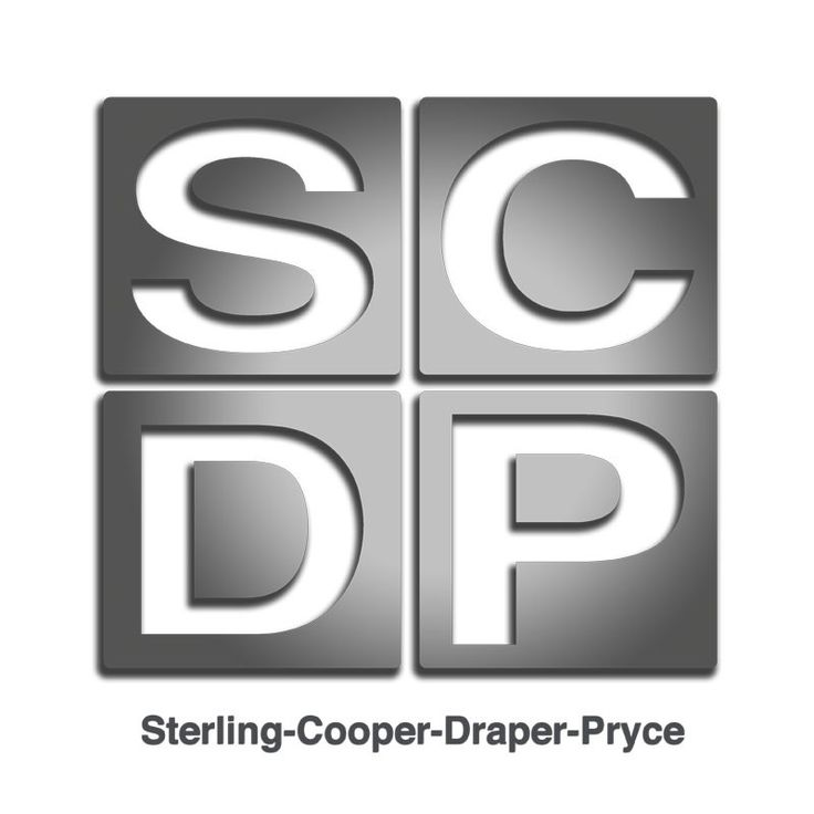 Sterling Cooper Draper Price logo t-shirts | Mad for Mad Men ...