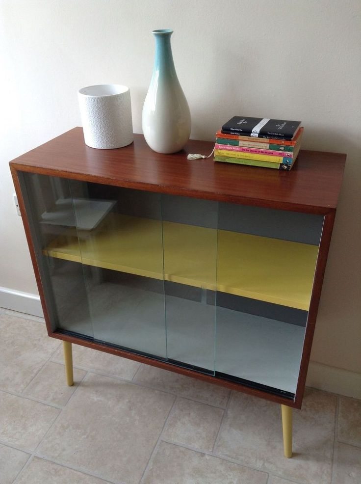 With a bit of paint from sample pots of Farrow & Ball, a 'new' vintage dansette legs, I was able to transform an old, boring office cabinet into a more stylish…
