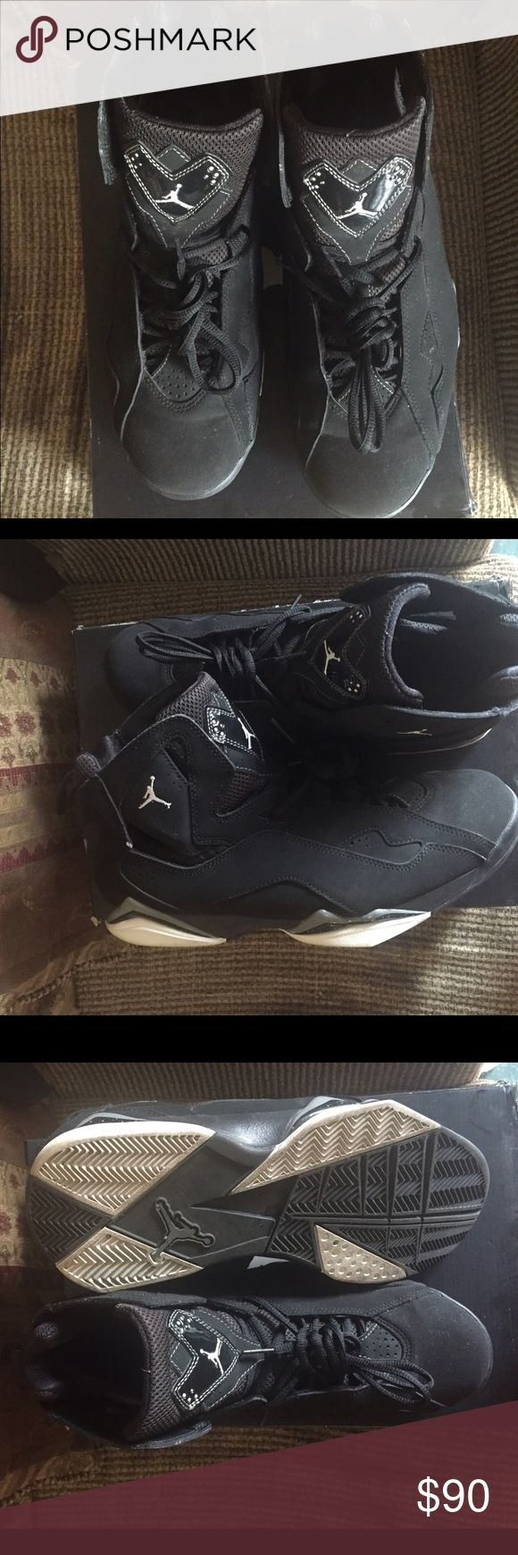 Jordan's True Flight Black and White. Jordan True Flight. Great condition only worn once. Size 11 Jordan Shoes Sneakers