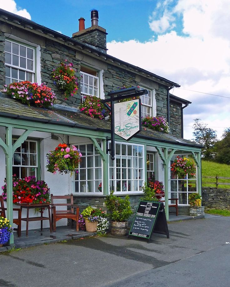 Three Shires Inn, Little Langdale, Lake District. Credit SwaloPhoto, flickr