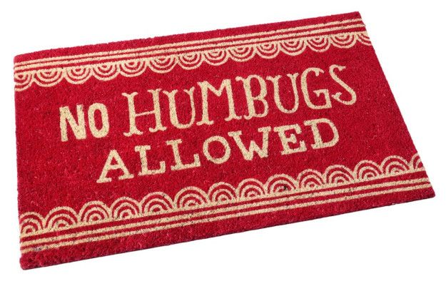 A sassy doormat that's relevant all year around. | 32 Christmas Decorations You'll Want To Keep Up All Year