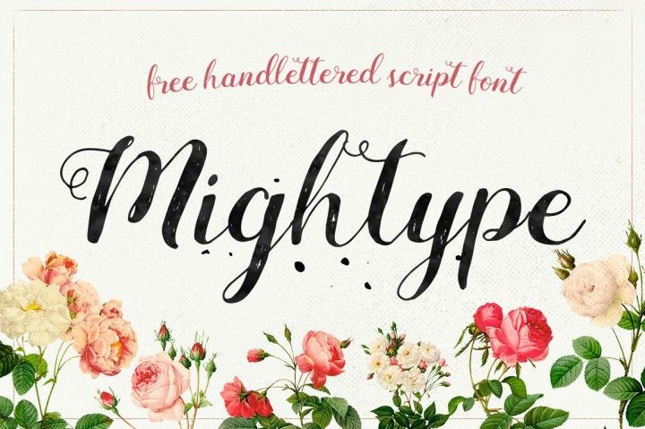 FREE Mightype Script By TheHungryJPEG