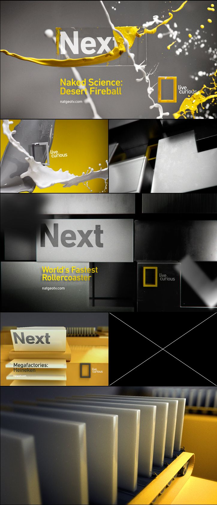 Superestudio - Nat Geo pitch