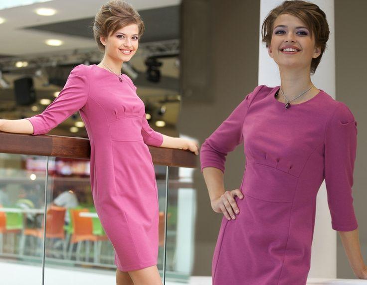 Красные и розовые платья 2015 года