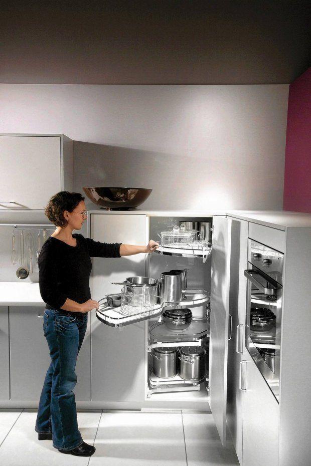 Kuchnia: narożne szafki
