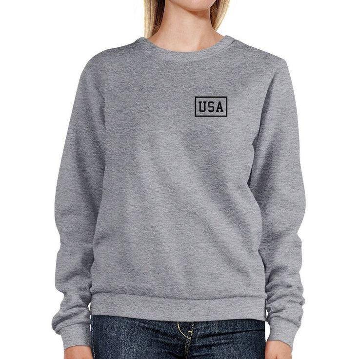Mini Usa Unique 4Th Of July Pullover Sweatshirt Patriotic Gift Idea