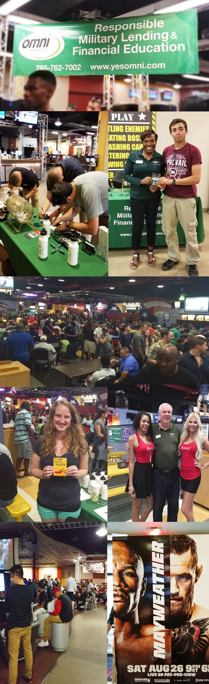 Check out the pictures from the Mayweather vs. McGregor fight viewing we sponsored for the troops stationed at Fort Riley and Fort Bragg.