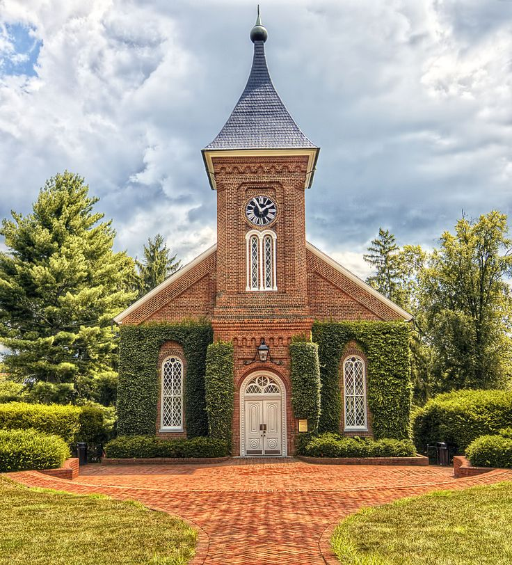 Lee Chapel, Washington and Lee University, Lexington, VA