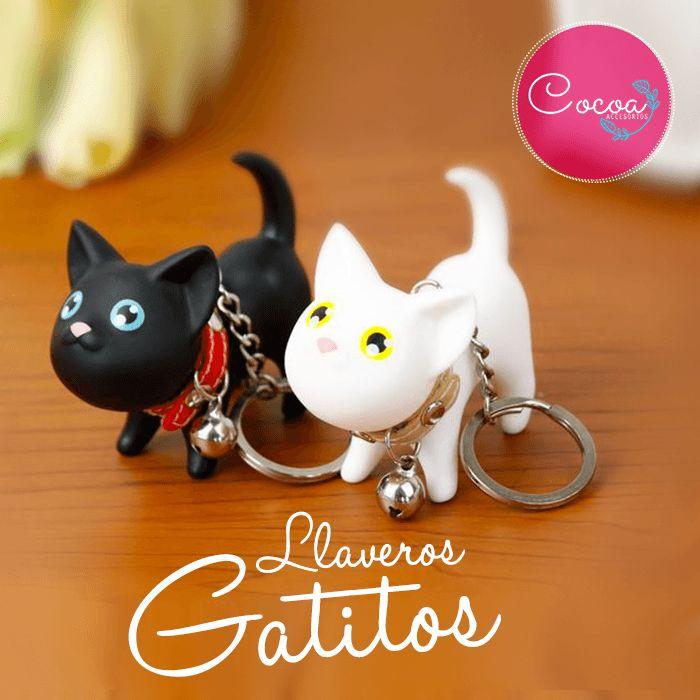 Lindos gatitos en forma de llavero con varios varios colores. ¡coleccionalos! su tamaño es 4cm de alto x 6 cm de largo $6.000 CO #Cocoaccesorios #accesorioscocoa #accesoriosParaMujer