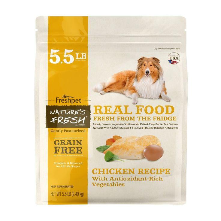 Freshpet grain free chicken recipe with antioxidant