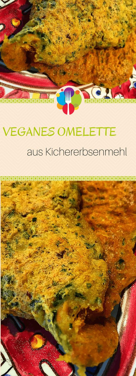 Veganes Omelette Rezept mit Kichererbsenmehl I Veganes Frühstück I Vegane Rezepte deutsch I Vegalife Rocks: www.vegaliferocks.de✨ I Fleischlos glücklich, fit & Gesund✨ I Follow me for more vegan inspiration @vegaliferocks