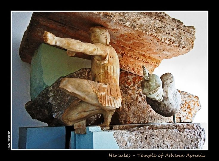 Heracles, a sculpture inside the museum of Athaea Athena, near the ancient Temple(http://www.portergaud.edu/academic/faculty/cmcarver/scgr.html)