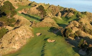 PowerfulGolfTips.com - This is Barnbougle Dunes - one of the most beautiful and challenging golf courses in Australia (located in the north of Tasmania, Australia's southernmost state). #golfcourses #golf