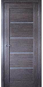 Venice - Grey Oak Interior Door with Glass$265