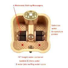 Conair Foot Spa with Massaging Bubbles and Heat. #bestfootmassager #footmassagemachine #homefootmassager