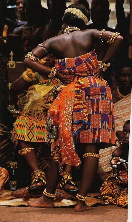 Dancers in Ghana.